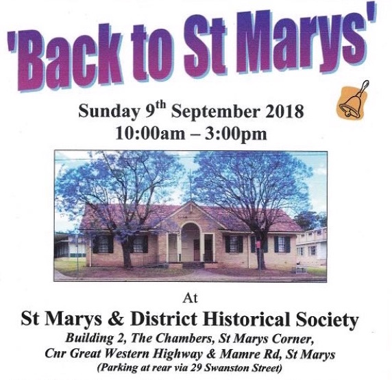 ST MARYS HISTORICAL SOCIETY